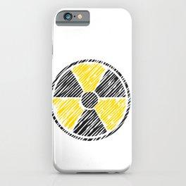 Radiology Radiation Logo Rad Tech Student iPhone Case