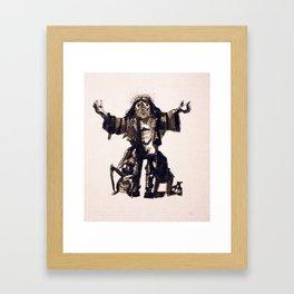 Jesus Wasa Rockeur Framed Art Print