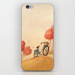 Lonely Bike iPhone Skin
