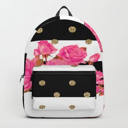 Goldy Flowers Backpack