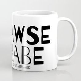 Bawse Babe Tee Coffee Mug