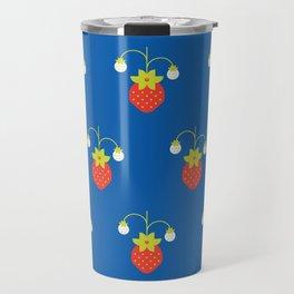 Fruit: Strawberry Travel Mug