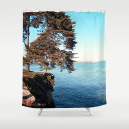 Cliffs Shower Curtain