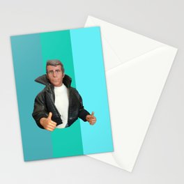 Cool Points - cool colors Stationery Cards