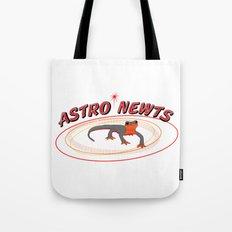 Astro Newts Tote Bag