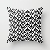 art deco Throw Pillows featuring art deco by frenkelvic