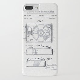 Record player 1950 iPhone Case