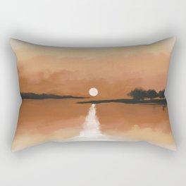 Rising Sun Rectangular Pillow