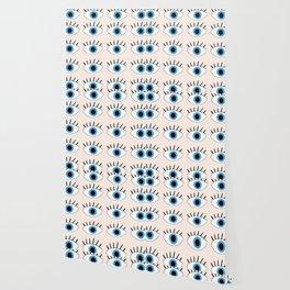 Blue evil eye Wallpaper