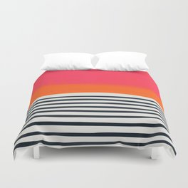 Sunset Ripples Duvet Cover