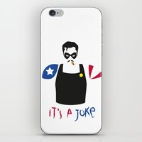 watchmen iPhone & iPod Skins featuring [ Watchmen ] The Comedian by Vyles