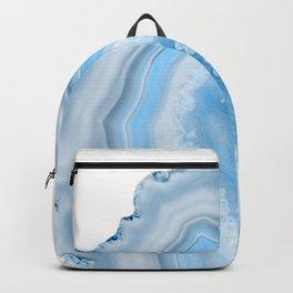 Soft Blue Agate Dream #1 #gem #decor #art #society6 Backpack