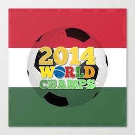 2014 World Champs Ball - Hungary Canvas Print