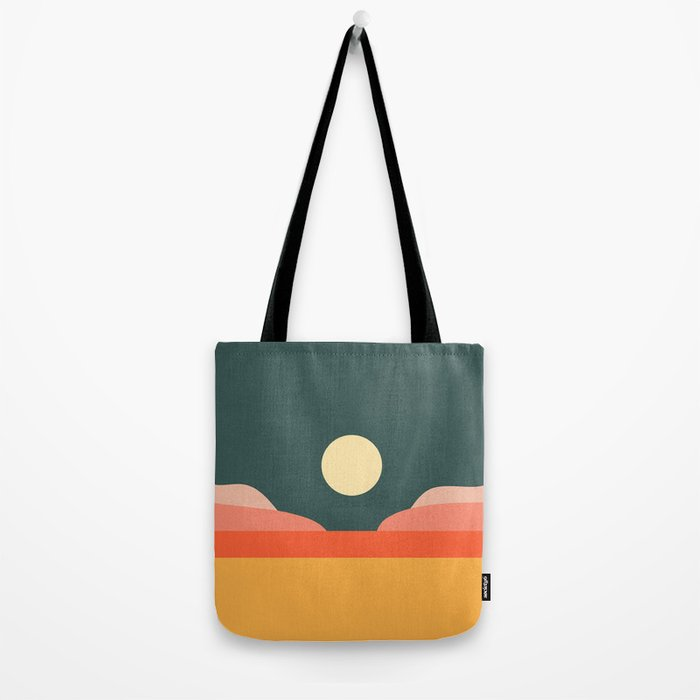 Geometric Landscape 14 Tote Bag