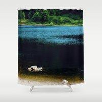 zen Shower Curtains featuring Zen by Tarraf Photography