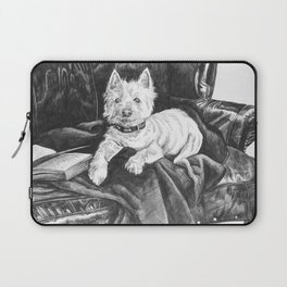 Literary Hound Laptop Sleeve