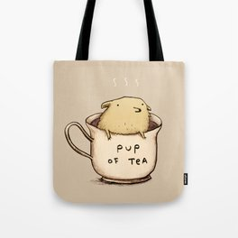 Pup of Tea Tote Bag