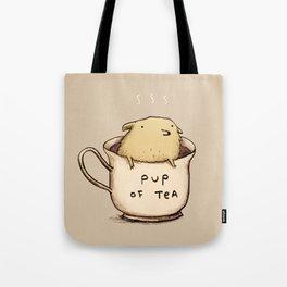 Pup of Tea Tote Bag