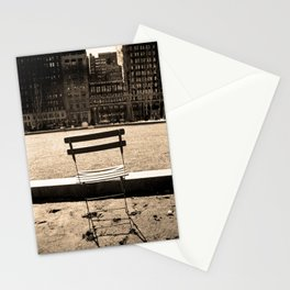 Chair in Bryant Park Stationery Cards