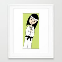 coco Framed Art Prints featuring Coco  by LilianGrace