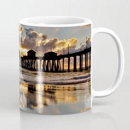 Surf City Sunsets 11/25/15  ~  Sunset at the Huntington Beach Pier Coffee Mug