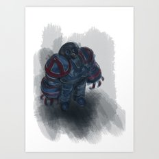 small robot Art Print