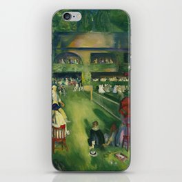 "George Wesley Bellows ""Tennis at Newport (1920)"" iPhone Skin"