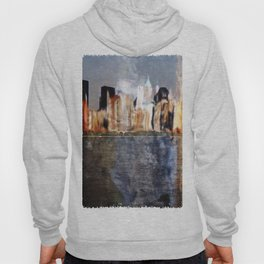 Skyline of New York City Hoody
