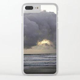 Cloudy Seas Clear iPhone Case
