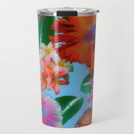 Hawaiian Print III Travel Mug