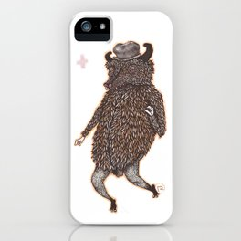 movin & groovin' iPhone Case