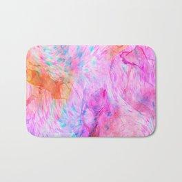 psychedelic joy Bath Mat