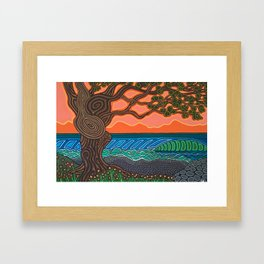 Knotty Point Framed Art Print
