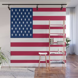 Flag of USA - American flag, flag of america, america, the stars and stripes,us, united states Wall Mural