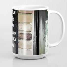 Front Door Quote Coffee Mug