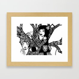how could you be so headless Framed Art Print