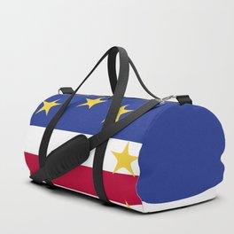 Cape Verde flag emblem Duffle Bag