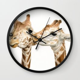 Smoochin' Wall Clock