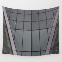 bow Wall Tapestries featuring Bow by RMK Photography