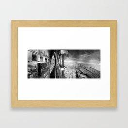 Grand City Framed Art Print