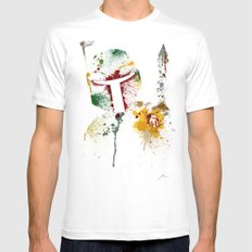 Bounty hunter Mens Fitted Tee SMALL White