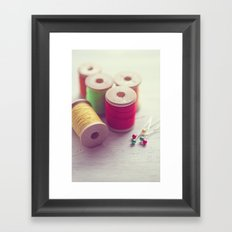 It's the simple things... Framed Art Print