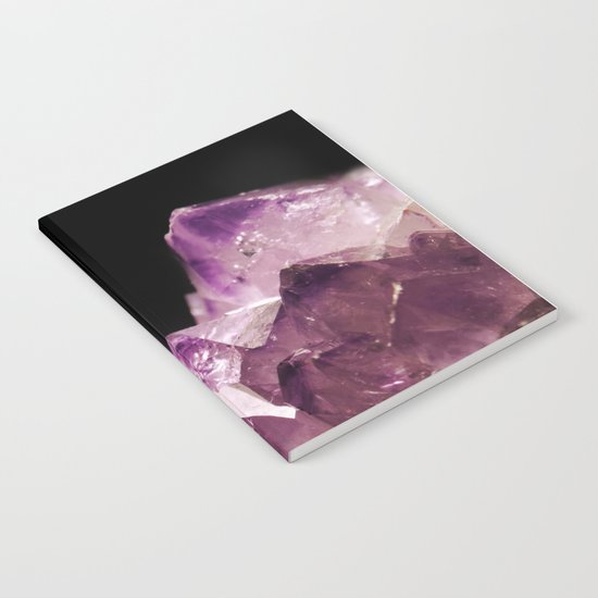Amethyst Quartz Notebook