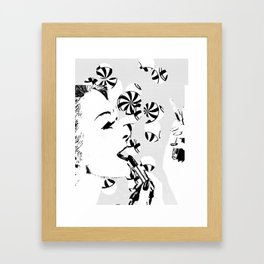 candy girl Framed Art Print