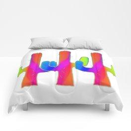 Cactus Rainbow 01 Comforters