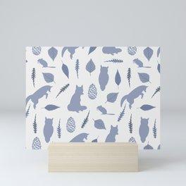 Winter Fox (Tide) Mini Art Print