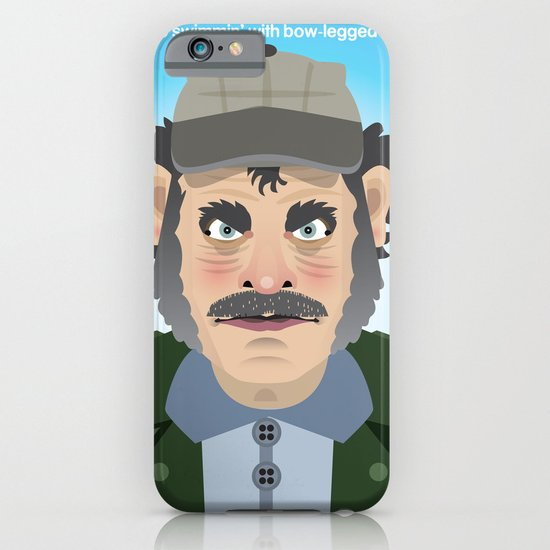 Jaws Quint iPhone & iPod Case