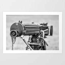 Vickers Machine Gun Art Print