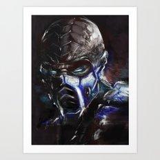 Deep Freeze Art Print