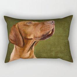 Magyar Vizsla portrait Rectangular Pillow